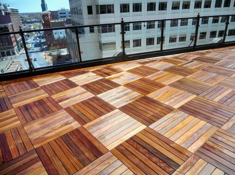 Commercial Rooftop Decking